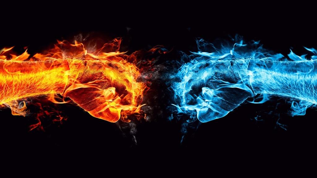 Le feu et le Froid